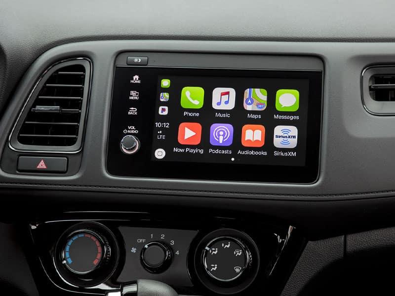 2022 Honda HR-V interior technology comfort and cargo space