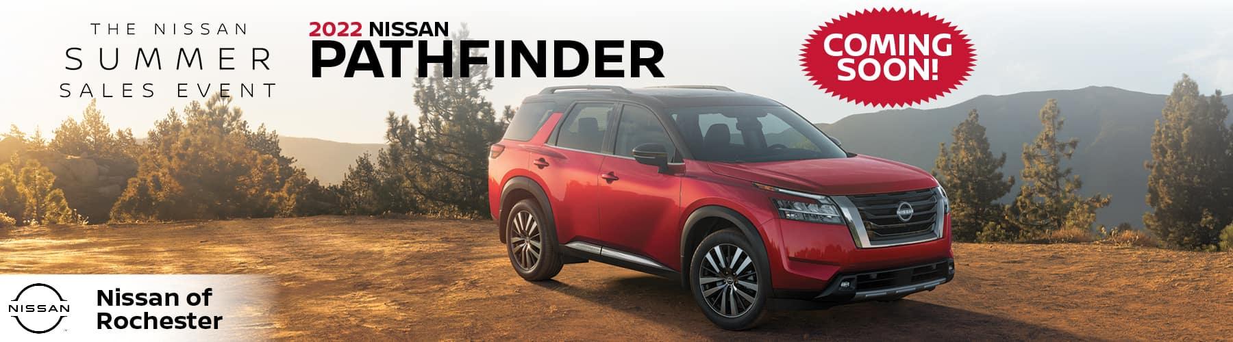 2022 Nissan Pathfinder | Nissan of Rochester