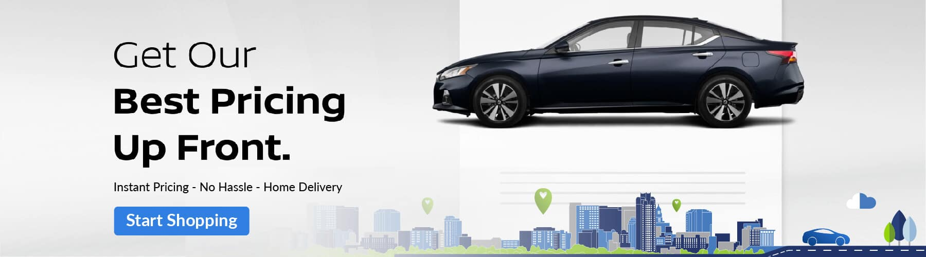 Buy Car online with Nissan of Rochester