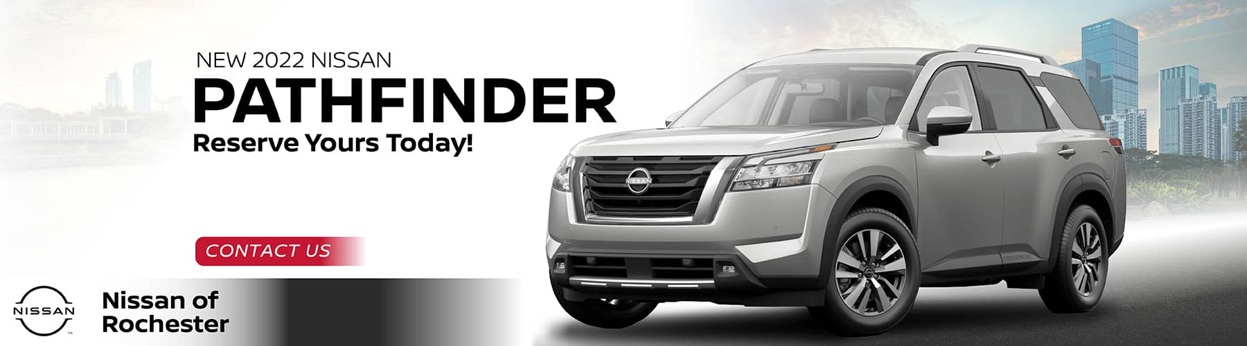 Reserve Your 2022 Pathfinder Today | Nissan of Rochester