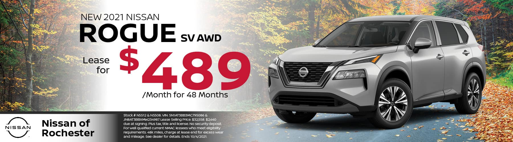 2021 Nissan Rogue Special Offer | Nissan of Rochester, MN