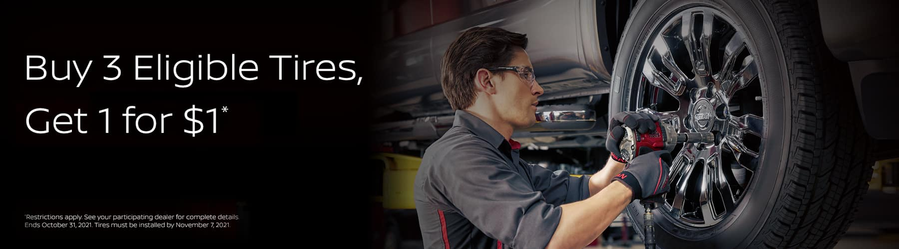 Nissan Tire Special | Nissan of Rochester, MN