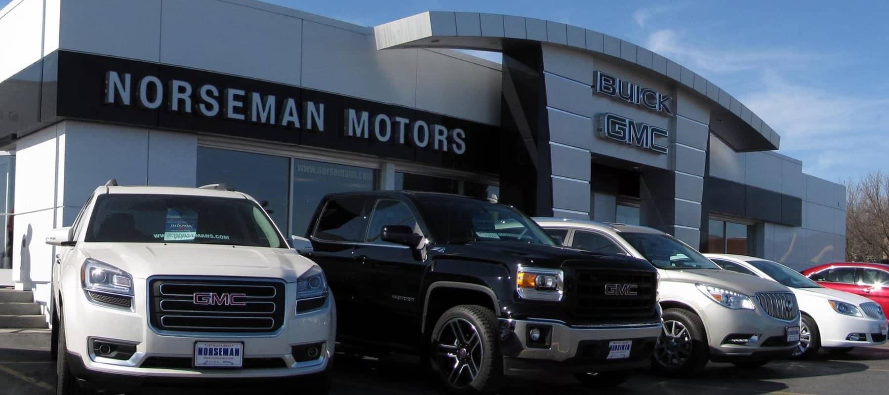 front image of dealership