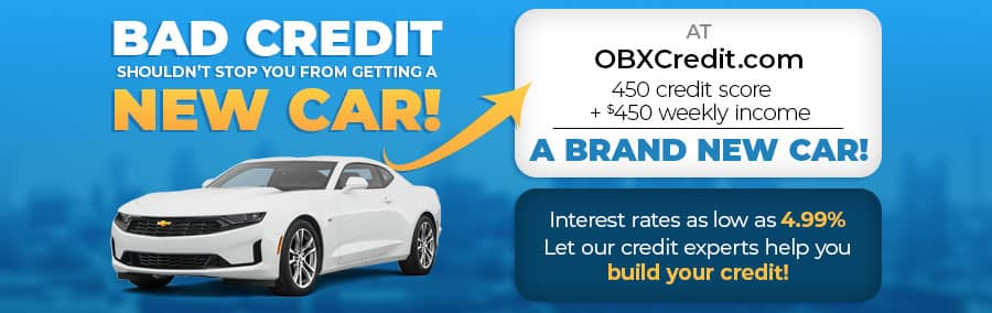 OBXCredit.com - Bad credit shouldn't stop you from getting a new car