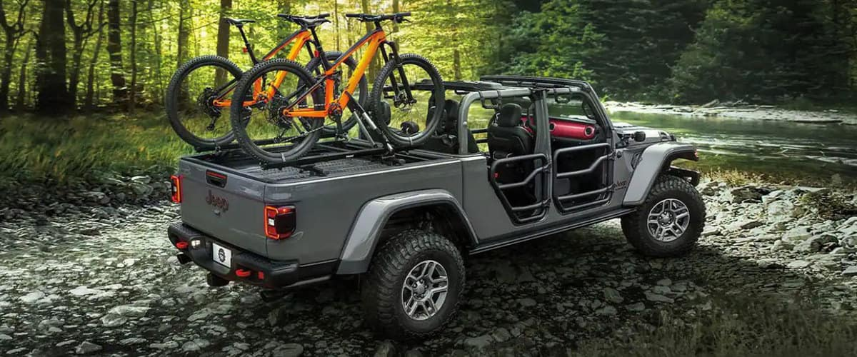 The New 2021 Jeep Gladiator