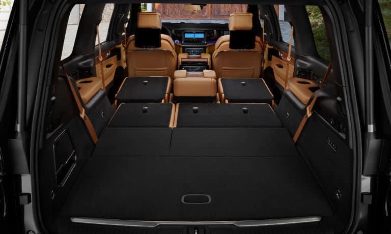 2022 Jeep Grand Wagoneer interior rear cargo
