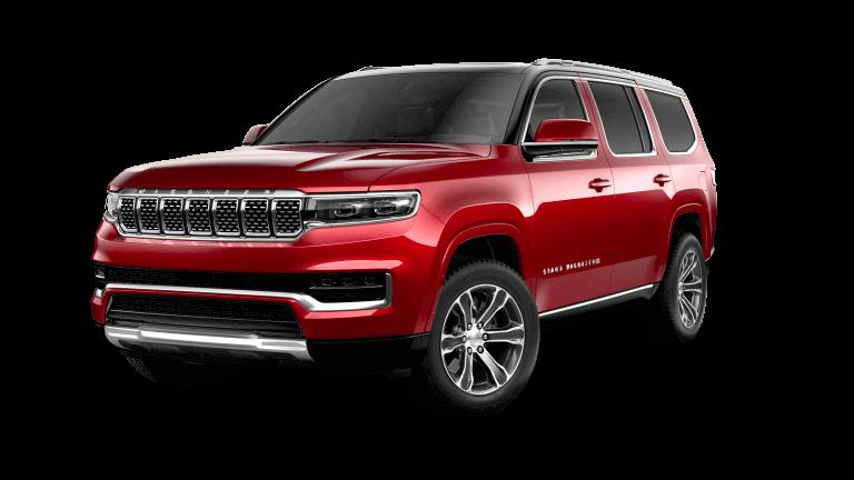 2022 Jeep Grand Wagoneer Series I - Velvet Red