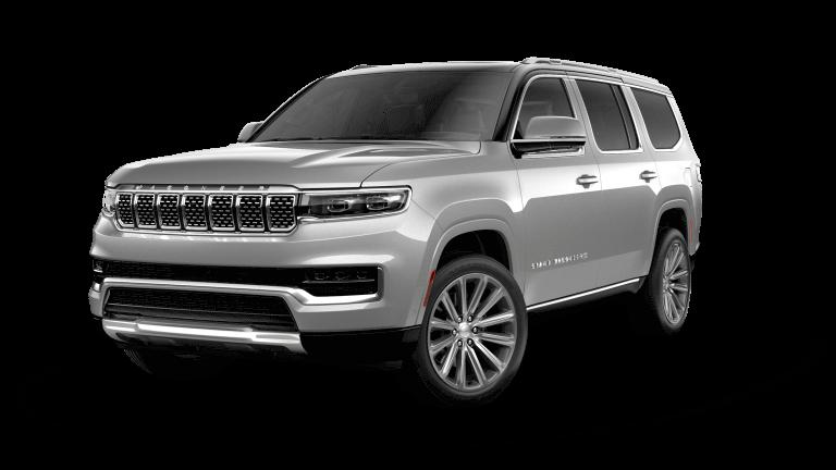 2022 Jeep Grand Wagoneer Series II - Silver Zynith