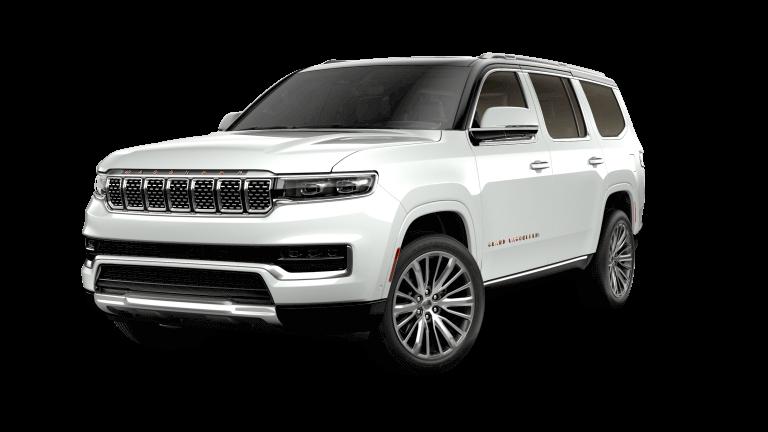2022 Jeep Grand Wagoneer Series III - Bright White