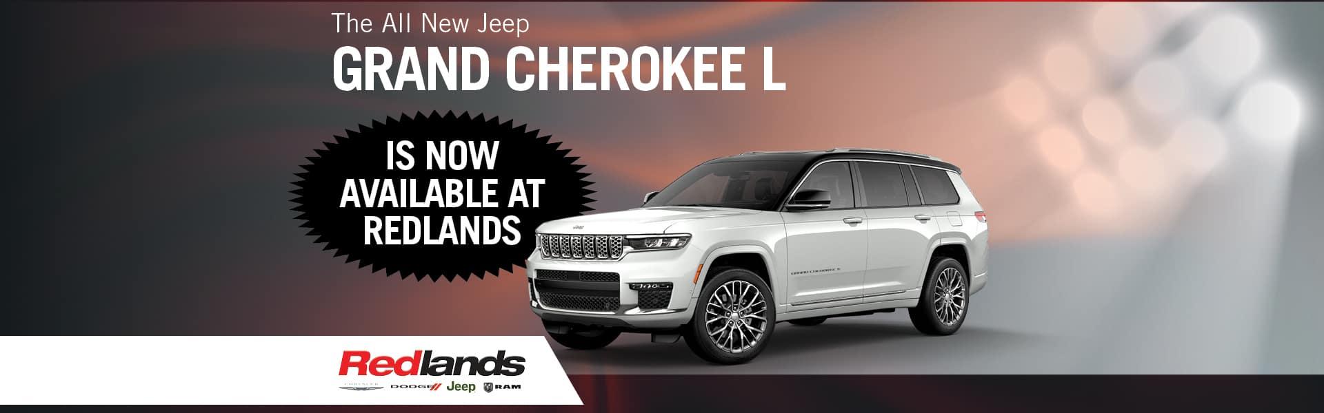 All New Jeep Grand Cherokee | Redlands CDJR