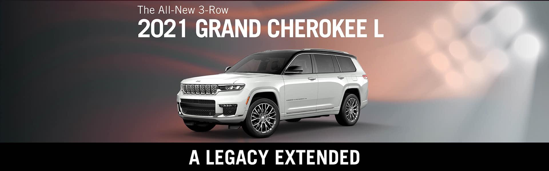 All New 2021 Grand Cherokee L   Redlands CDJR