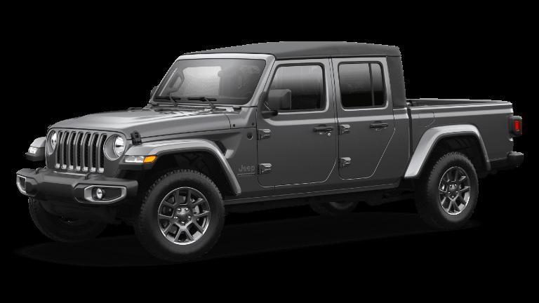 2021 Jeep Gladiator 80th Anniversary - Granite