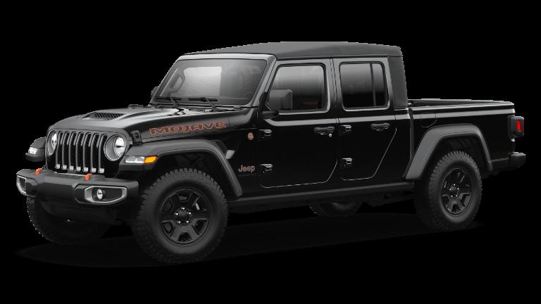2021 Jeep Gladiator Mojave - Black