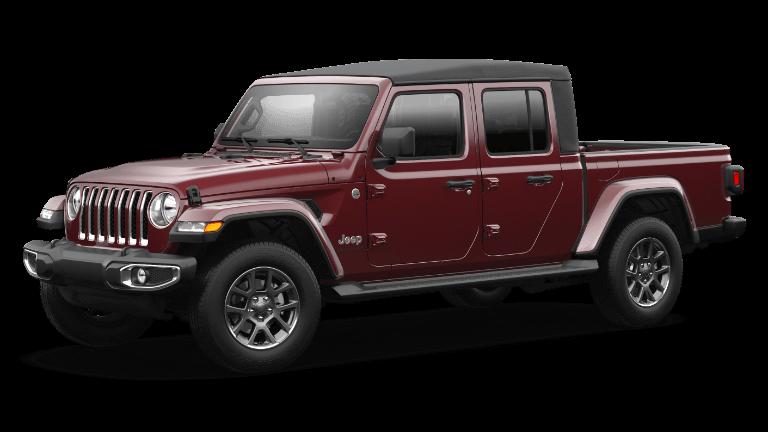 2021 Jeep Gladiator Overland - Snazzberry