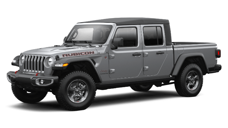 2021 Jeep Gladiator Rubicon - Billet Silver