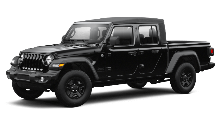 2021 Jeep Gladiator Sport - Black