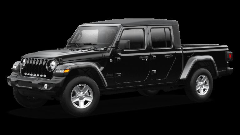2021 Jeep Gladiator Sport S - Black