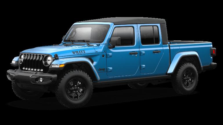 2021 Jeep Gladiator Willys - Hydro Blue