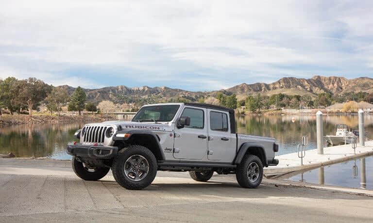 2021 Jeep Gladiator exterior at dock