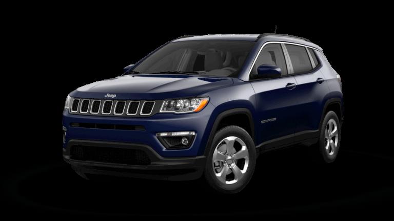 2021 Jeep Compass Latitude Jazz Blue