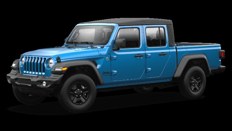 2021 Jeep Gladiator Sport Hydro Blue Pearl
