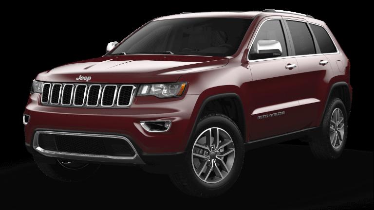 2021 Jeep Grand Cherokee Limited Velvet Red