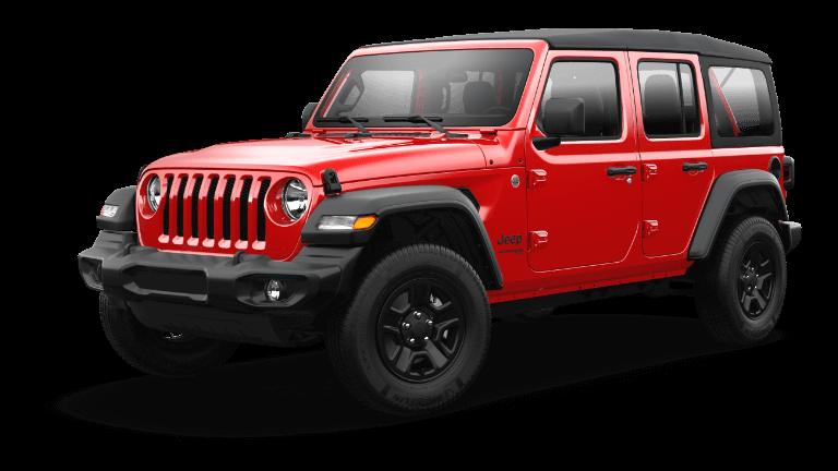 2021 Jeep Wrangler Sport Firecracker Red