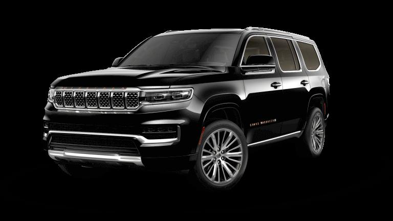 2022 Jeep Grand Wagoneer Series III Diamond Black