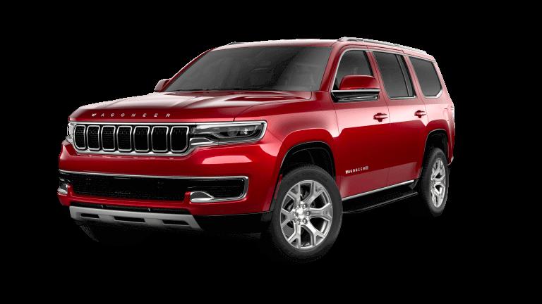 2022 Jeep Wagoneer Series II Velvet Red