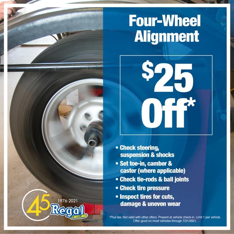 Four Wheel-Alignment