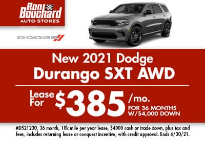 2021 Dodge Durango SXT AWD