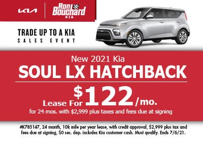 New 2021 Kia Soul LX Hatchback