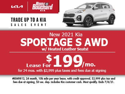 New 2021 Kia Sportage S AWD