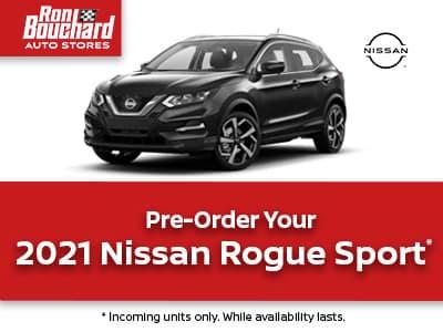 2021 Nissan Rogue Sport AWD