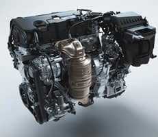 158-horsepower engine