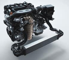 180-hp turbocharged engine