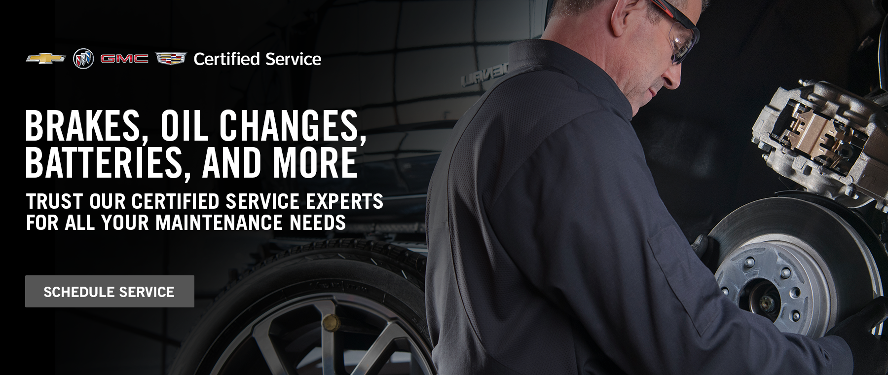 Brakes, Oil Changes, Batteries, and More - Schedule Service