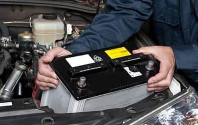 COMPLIMENTARY BATTERY INSTALL