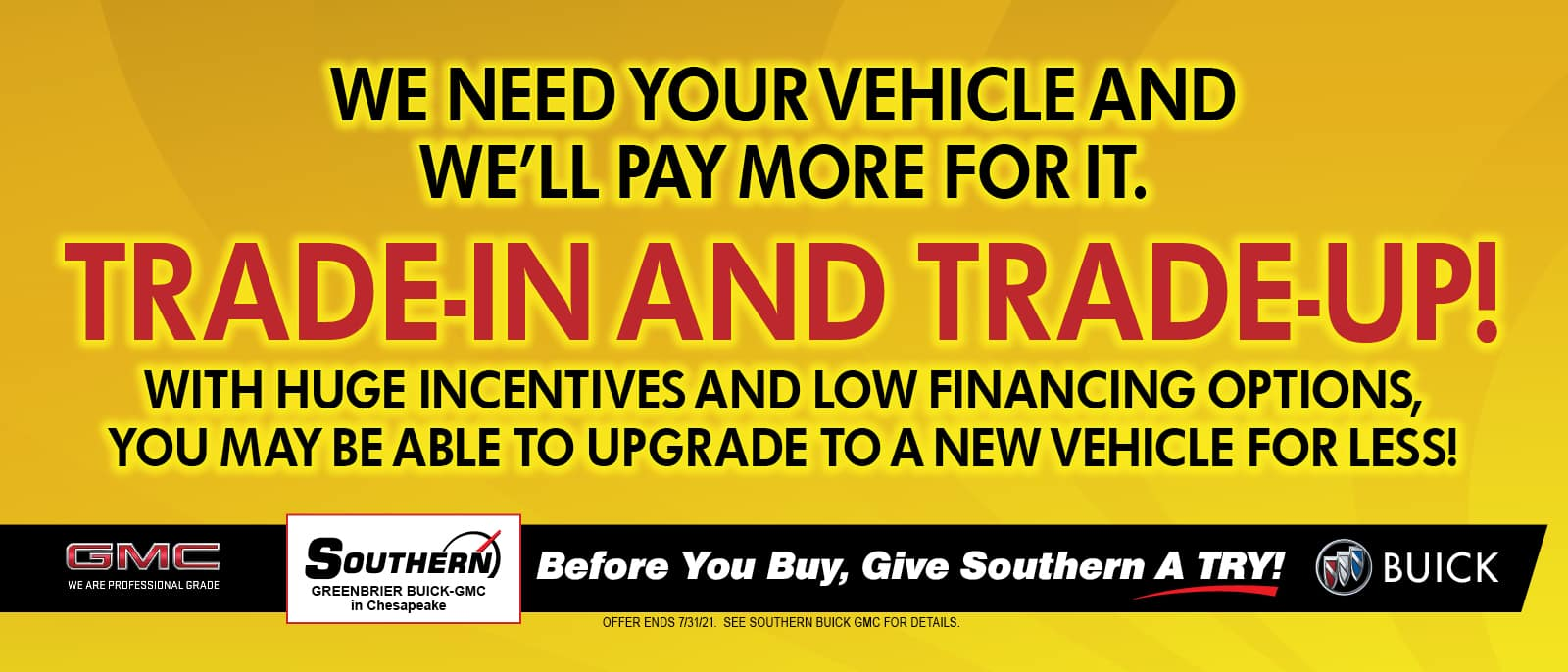 Greenbrier Buick GMC Buy Your Car