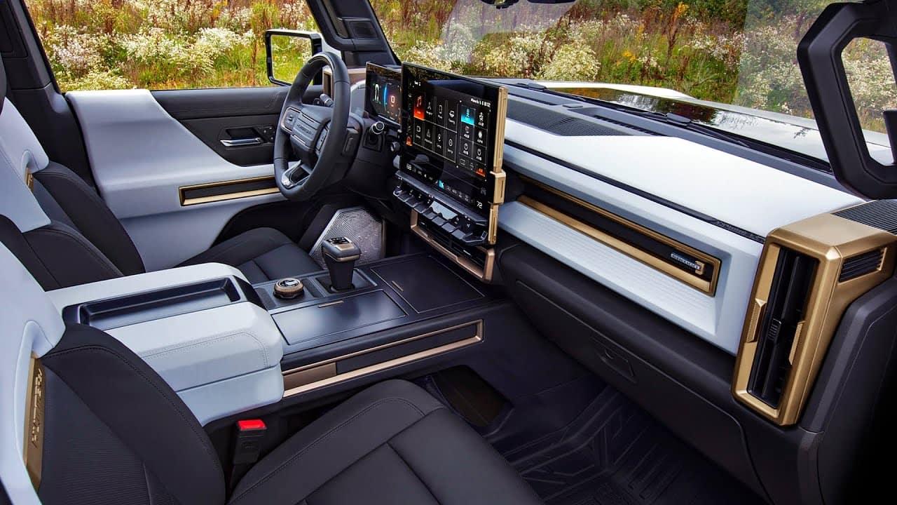 Hummer EV SUV Interior