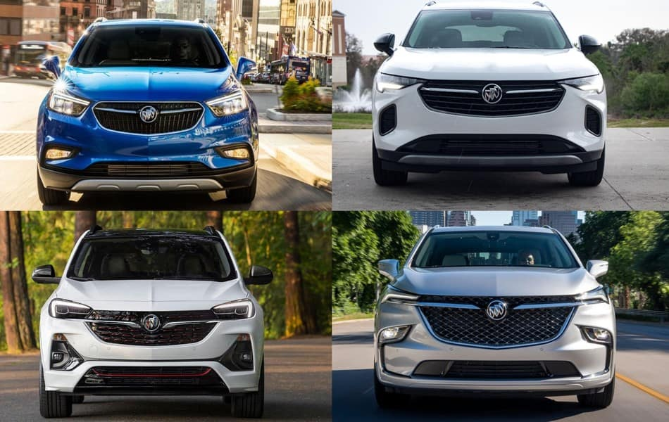 2022 Buick SUV Lineup