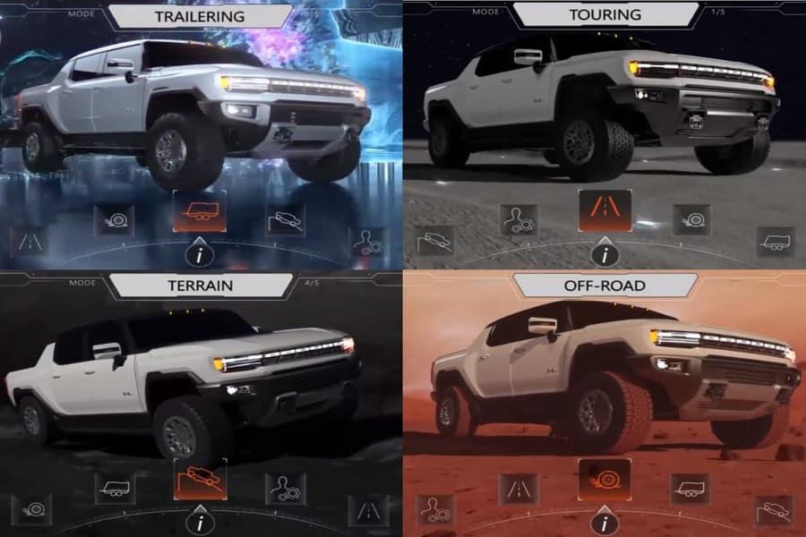 Hummer EV Animations