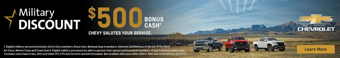 Military Discount Offer