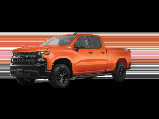 Orange 2021 Chevy Silverado High Country.