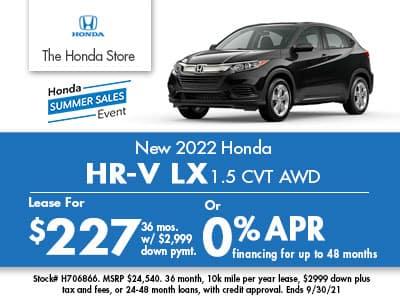 2022 Honda HR-V AWD