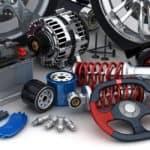 Miscellaneous Auto Parts on a white background