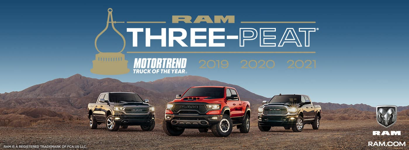 RAM Three Peat
