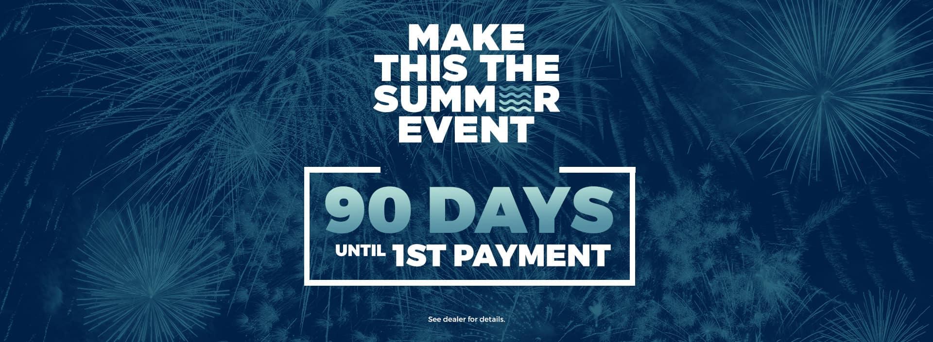 90 days till 1st payment