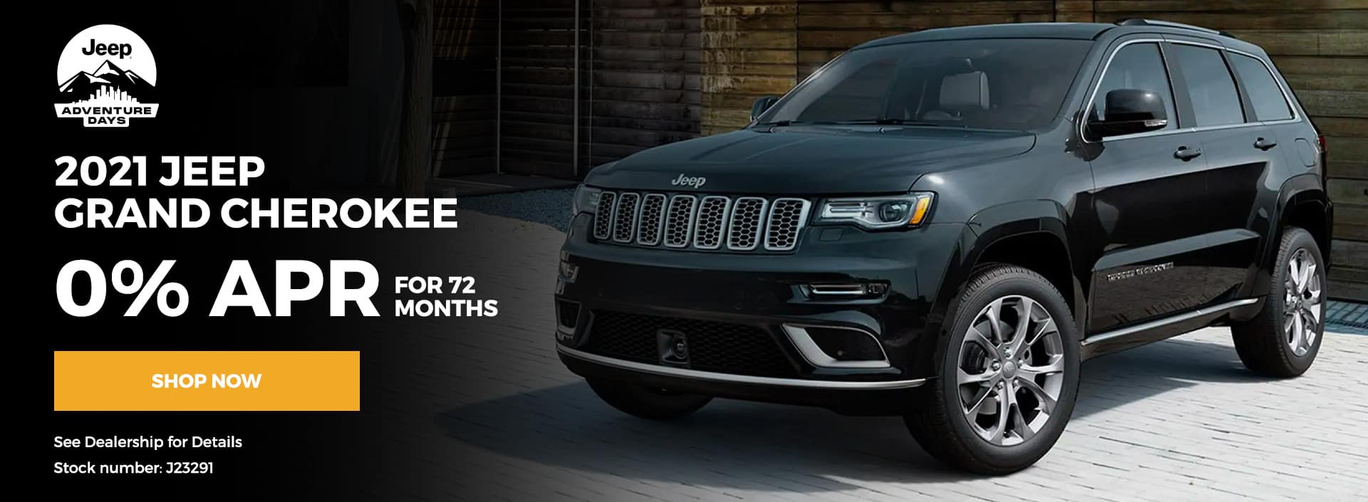 2021 Jeep Grand Cherokee 0% for 72 months