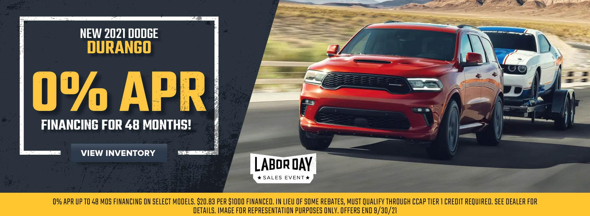 New 2021 Dodge Durango